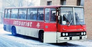 Brekina 95963 Автобус Ikarus 255 INTOURIST Epoche III-IV 1/87