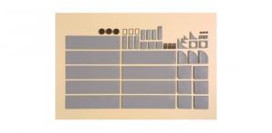 Auhagen 42657 Тротуарные плиты с аксессуарами H0    Auhagen_42657.jpg
