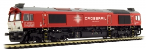 ESU 31274 Тепловоз C77 Crossrail DE 6314 PRIVAT Epoche V-VI 1/87    ESU_31274.jpg