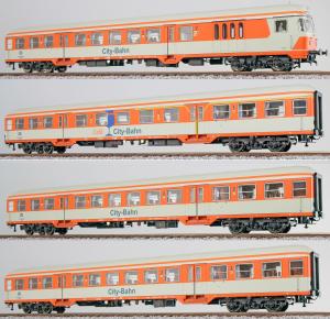 ESU 36482.4 Набор пассажирских вагонов City-Bahn DB Epoche IV 1/87