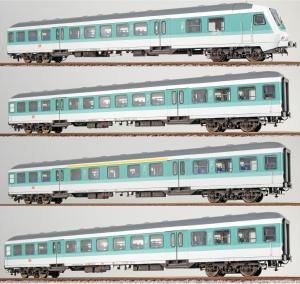 ESU 36497.4 Набор пассажирских вагонов DB AG Epoche V 1/87