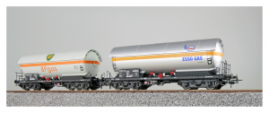 ESU 36527 Набор вагонов ZAG ESSO+BP DB Epoche IV 1/87