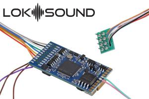 ESU 58410 Декодер звуковой LokSound 5 DCC/MM/SX/M4 8-pin NEM 652