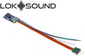 ESU 58816 Звуковой декодер LokSound 5 micro DCC/MM/SX/M4 6-pin NEM651 ESU_58816.jpg