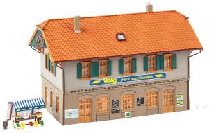 Faller 130595 Жилой дом с магазином 1/87 Faller_130595.jpg