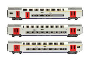 LSM 43010 Набор вагонов Type M6 SNCB Epoche V 1/87  LSM_43010.jpg