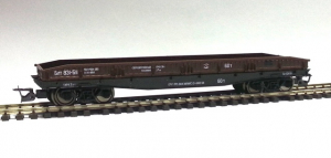 Пересвет 3680 Вагон платформа эпоха III 1/120