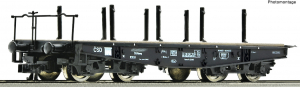 Roco 37595 Вагон платформа Rlmmp CSD Epocha IV 1/120   Roco_37595.jpg