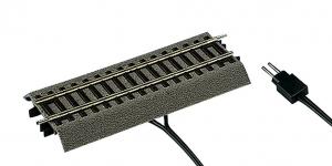 Roco 42517 Рельс прямой c контактным проводом (цифровой) G1/2 115мм на призме 1/87  Roco_42517.jpg