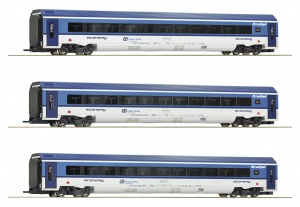 Roco 74068 Набор вагонов Railjet CD CD Epoche VI 1/87   Roco_74068.jpg