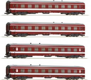 Roco 74109 Набор вагонов Capitol SNCF Epocha III 1/87 RO