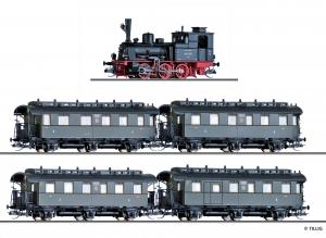 Tillig 01751 Вагон BR 89.70 + 4 вагонов DRG Epoche II 1/120     Tillig_01751.jpg