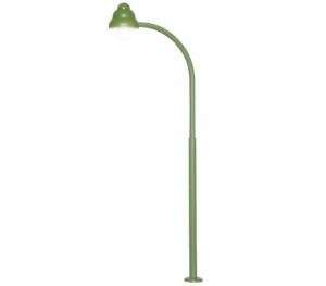 Viessmann 6012 Фонарь газовый изогнутый зелёный 1/87
