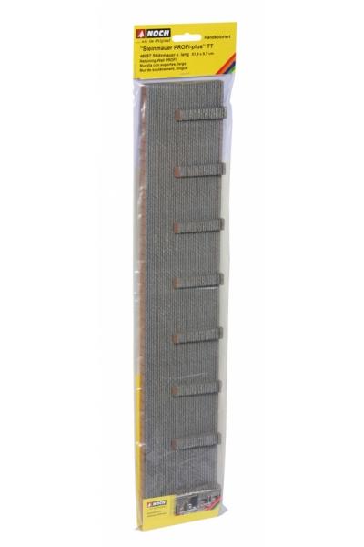 Noch 48057 Стена подпорная с колонами обработанный камень 51.8Х9.7см 1/120