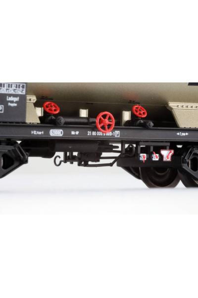 ESU 36531 Набор вагонов ZAG GATX+VTG DB Epoche V 1/87