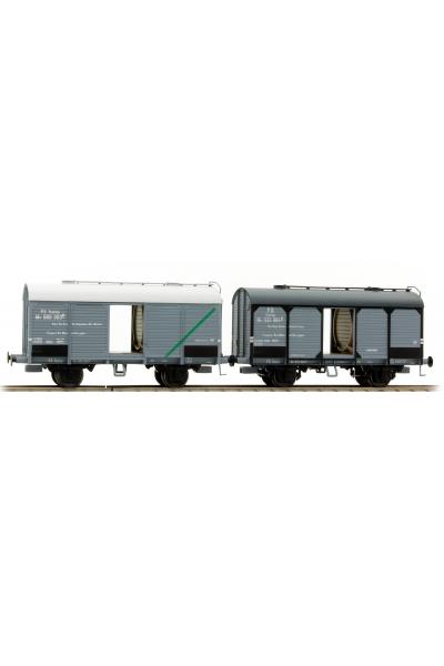 45055 Набор грузовых вагонов vino Adria+Faen FS Epoche III 1/87