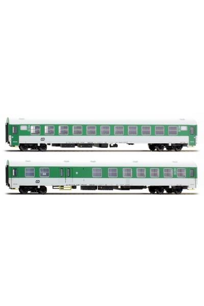 ACME 55097 Набор пассажирских вагонов Tip Z 2шт CD Epoche V 1/87