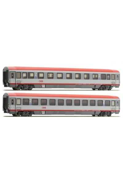 ACME 55145 Набор пассажирских вагонов EC 84 Bologna-Munich OBB Epoche VI 1/87