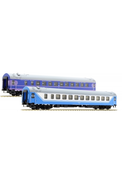 ACME 55152 Набор пассажирских вагонов D 1248/1249 Saratov-Express РЖД Epoche V 1/87