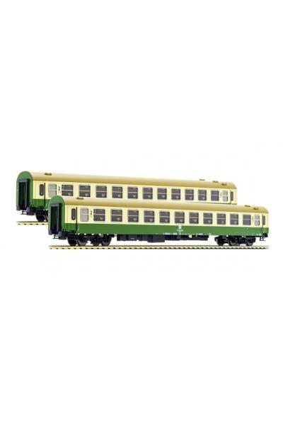 ACME 55156 Набор пассажирских вагонов 2шт Typ Bcm+Bcm DR Epoche IV 1/87