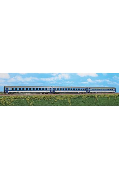 ACME 55170 Набор вагонов поезда 378/379 CD Epoche VI 1/87