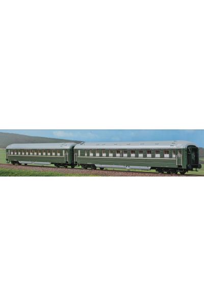 ACME 55173 Набор пассажирских вагонов RIC WLA 4u СВПС 1/87