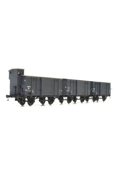 Artitec 20.217.10 Набор вагонов CHD 3шт NS Epoche II-III 1/87