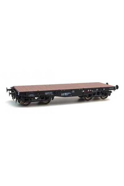 Artitec 20.283.01 Вагон платформа SSy 45 DB Rlmmp 700 707-3 Epoche IV 1/87