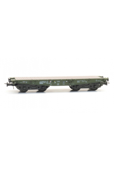 Artitec 20.284.08 Вагон платформа SSy 55 399 4 182-2 Bundeswehr Epoche IV-V 1/87