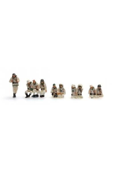Artitec 387.100-W1 Набор фигур экипаж для Sd.Kfz.251/1B зима Epoche II 1/87