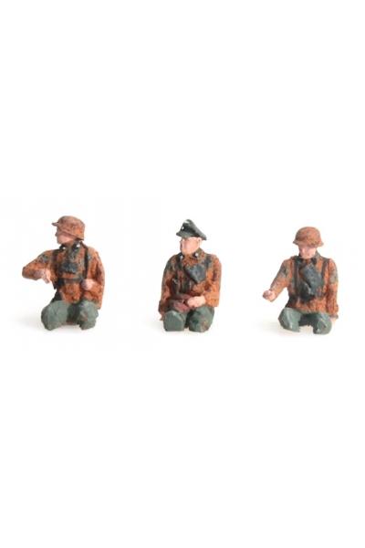Artitec 387.87-C1 Набор фигур экипаж для Kubelwagen Epoche II 1/87