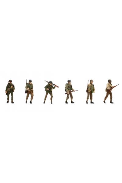 Artitec 387.88 Набор фигур 6шт пехота US-Armee Epoche II 1/87