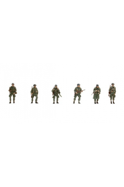 Artitec 387.89 Набор фигур 6шт парашютисты US-Armee Epoche II 1/87