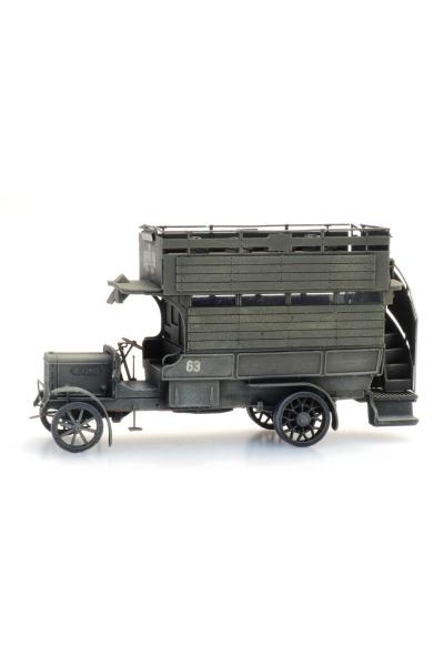Artitec 6870414 Автобус WWI Type B Omnibus Military Epoche I 1/87