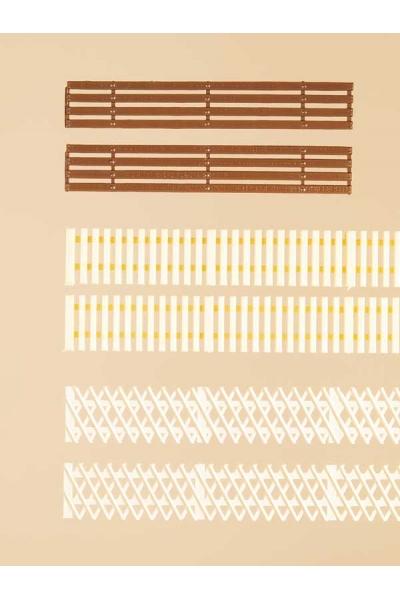Auhagen 42557 Заборы деревянные Н0/ТТ