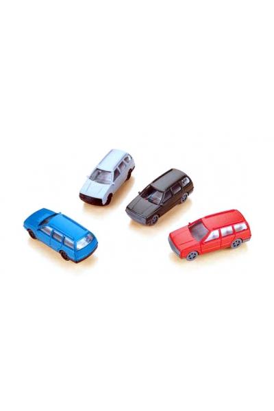 Auhagen 43651 Набор автомобилей 4шт 1/120