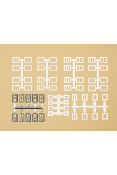 Auhagen 48654 Окна, двери промышленные 1/160