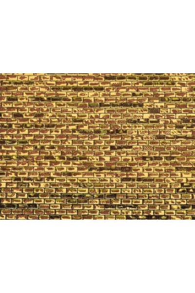 Auhagen 50501 Картон 220x100мм обработанный камень H0/TT