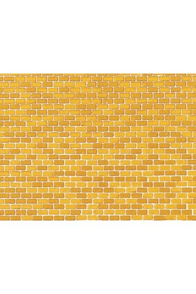 Auhagen 50510 Картон 220x100мм кирпич жёлтый H0/TT