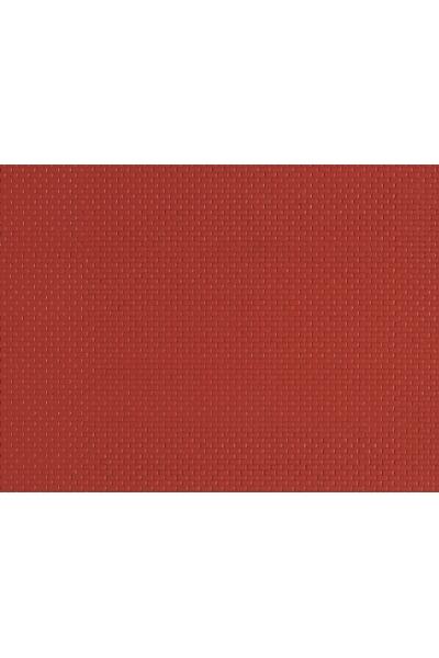 Auhagen 52412 Декоративная панель кирпич (красный) 200 x 100мм Н0/ТТ