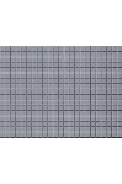 Auhagen 52421 Декоративная панель плитка тротуарная квадрат (серая) 200 x 100мм Н0/ТТ