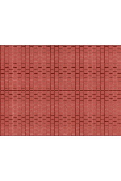 Auhagen 52424 Декоративная панель плитка тротуарная квадратная (коричневая) 200 x 100мм Н0/ТТ