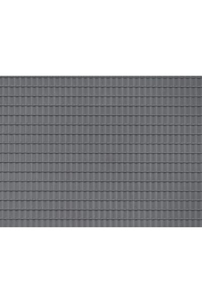 Auhagen 52426 Пластина черепица (серая) 200 x 100мм Н0/ТТ