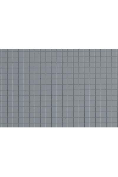 Auhagen 52438 Декоративная панель плитка тротуарная (серая) Н0/ТТ