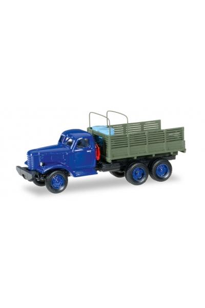 Auto 145581 ЗиЛ-151 борт 2 дуги синяя кабина 1/87