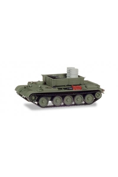 Auto 145895 Танк Т-54 ремонтнный бочки с запаской 1/87