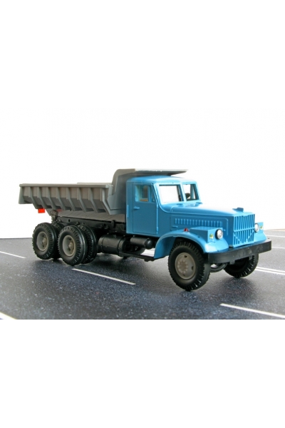 Auto KRAZSB1 Автомобиль КрАЗ самосвал кабина синяя 1/87