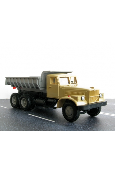 Auto KRAZSS Автомобиль КрАЗ самосвал кабина песок 1/87
