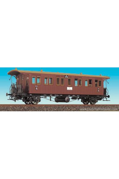 Brawa 2141 Вагон пассажирский E4 2706 K.W.St.E. Epoche I 1/87