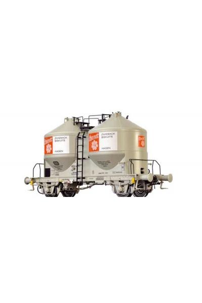 Brawa 37108 Вагон для цемента Ucs 909 DB IV 1/45